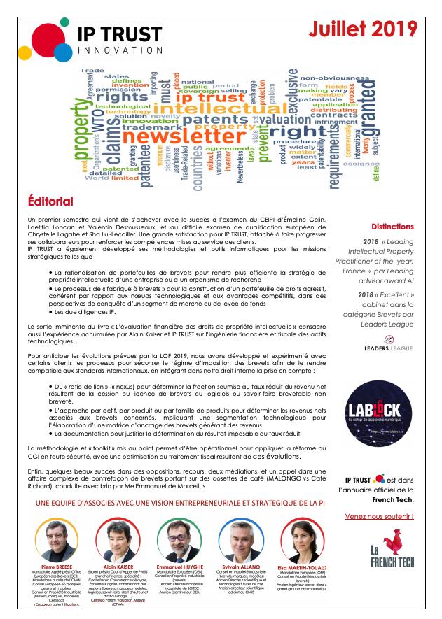 IPTRUST_Newsletter_Juillet2019
